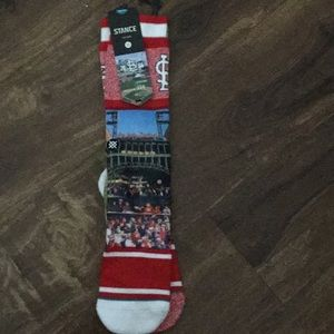 Brand new men's St Louis Cardinals socks